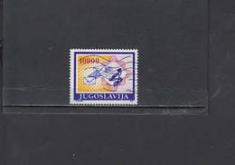 JUGOSLAVIA  1989 - Unificato  2017a° - Serie Ordinaria - Comunicazioni - 1945-1992 Repubblica Socialista Federale Di Jugoslavia