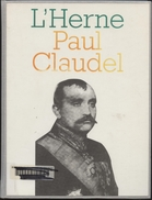 L'Herne, Paul Claudel,1997,Pierre Brunel, 425 Pages, Relié - Biographie