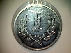 Armenie 5 Dram 1994 - Armenia