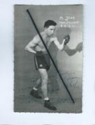 Carte - La Boxe - M.Jean - Prof Pellodi B.C.S.L. - Boxing