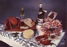 Fruits De Mer Assortis - Etrilles, Langoustines Et Crabe (Araignée) - Vin - Muscadet - Recipes (cooking)