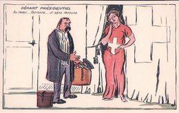 Suisse, Helvetia, Départ Présidentiel, Au Revoir.... (123) - Satiriques