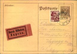 1935, Eilkarte Ab INNSBRUCK