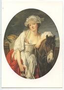 Greuze 1725/1805 La Laitière (toile) Legs Rotschild (Louvre) Cp Vierge - Peintures & Tableaux