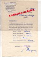 16 - ANGOULEME - ANALYSE DE SANG- PHARMACIEN MAURICE DOGNON- PHARMACIE-40 RUE MARENGO- 1933 - France