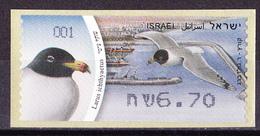 Israel - ATM Mi.Nr. 72 - Postfrisch MNH - Tiere Animals Vögel Birds Möwe Gull