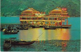CP CHINE - HONG-KONG - SHATIN FLOATING RESTAURANT - China (Hongkong)