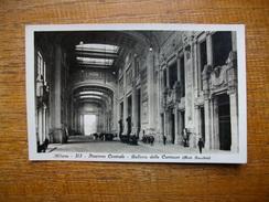 Italie , Milano , Stazione Centrale , Galléria Delle Carrozze - Milano (Milan)