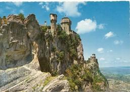 REPUBLICA DI S. MARINO, Prima E Seconda Torre, First And Second Tower, Unused Postcard [19479] - San Marino
