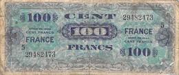 Ww2 - 1944 Billet De 100 Francs De La Libération Usagé Mais Prope (voir Scan Recto/verso) - 1871-1952 Circulated During XXth
