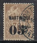 """MARTINIQUE N°12  Variété Point Après """"c"""" Plus Haut  Superbe - Gebraucht"""