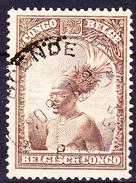 Belgisch-Congo Congo-Belge - Mangbetu-Häuptling (MiNr: 139) 1931 - Gest. Used Obl. - 1923-44: Usati
