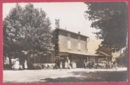 26 - CHABANNES---Hotel 'de L'Auberge'  Tel 2----voiture--animé---cpsm Pf - Altri Comuni