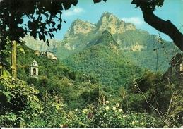 Cardoso Fraz. Di Stazzema (Lucca, Toscana) Panorama, Il Monte Forato, View The Pierced Mount, Vue Le Mont Percé - Lucca