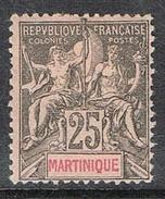 MARTINIQUE N°38 N* - Guyane Française (1886-1949)