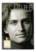 Cartes Parfumées Carte CHANEL ALLURE HOMME   De CHANEL   RECTO VERSO - Modern (vanaf 1961)