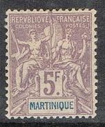 MARTINIQUE N°51 N* - Guyane Française (1886-1949)