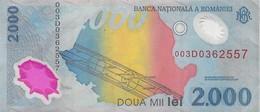 BANQUE NATIONALE DE ROUMANIE 2000 DOUA MIL LEI 1999 - Romania