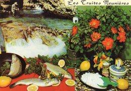 RECETTE: Les Truites Meunières  - Recette De Emile BERNARD - Ricette Di Cucina