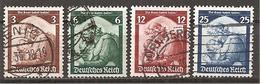 DR 1935 // Mi. 565/568 O - Deutschland
