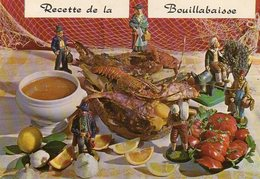 Recette De La Bouillabaisse  - Recette De Emile BERNARD - Ricette Di Cucina