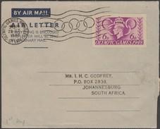 Grande-Bretagne 1948. Aérogramme, Oblitéré 1er Jour Des Jeux Olympiques Et FDC. Wembley - Summer 1948: London