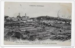 (RECTO / VERSO)  LA TURBIE - N° 1026 - VUE GENERALE - ROUTE DE LA CORNICHE - CPA - La Turbie