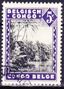 Belgisch-Congo Congo-Belge - Molindifluss/Molindi River (MiNr: 173) 1935 - Gest. Used Obl. - 1923-44: Usati