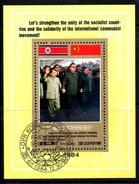 COREE DU NORD. BF Oblitéré De 1984. Mao/Amitié Avec La Chine.