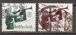 DR 1935 // Michel 584/585 O (5292) - Deutschland