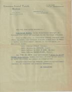 BORDEAUX CONSORTIUM GENERAL VINICOLE TARF CHATEAU CITRAN CHESNAYE LA TOUR DE MONS MARGAUX CHASSE SPLEEN ANNEE 1930 - Ohne Zuordnung