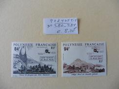 Polynésie  :: Timbres  Neufs  N° 380-381- - Polynésie Française