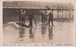 PARIS - Inondations De Paris ( Janvier 1910 ) - Lot De 7 Cartes Toutes Scannées. - La Crecida Del Sena De 1910