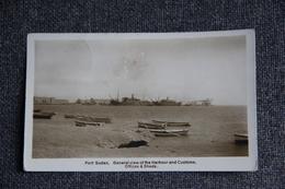 Port SUDAN , Genral View Of The Harbour And Customs. Voir Affranchissement. - Sudan