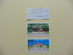 Polynésie  :: Timbres  Neufs  N° 358-359- - Polynésie Française