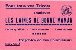 Buvard Laines De Bonne Maman. - Buvards, Protège-cahiers Illustrés