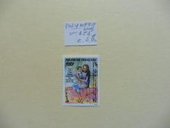 Polynésie  :: Timbre  Neuf  N° 454