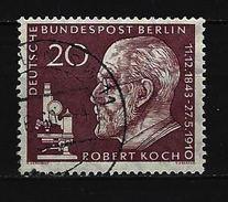 BERLIN Mi-Nr. 191 - 50. Todestag Von Robert Koch Gestempelt - Berlin (West)