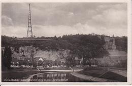 AK Mühlacker - Grossender Und Burg Löffelstelz - 1935 (27225) - Mühlacker
