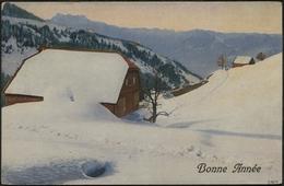 LEYSIN CHALET 1923 : Bonne Année - VD Vaud