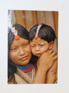 CPA GUYANE Française Indiens Du Haut Oyapock, En 1974 - Guyane