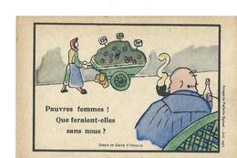 LIGUE D'ACTION FEMININE POUR LE SUFFRAGE - Dessin De Claire Villeneuve - Imagerie Pellerin Epinal 1927 - Political Parties & Elections