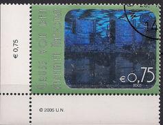 2005 UNO Wien Mi. 434 Used Wien: Int. Center ( Hologramm ) - Gebraucht