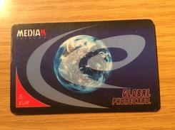 Median Telecom 5 Euro -  Global Phonecard     -  Fine Used Condition - Telefonkarten