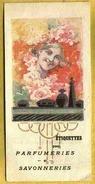 Rare Carte Réclame Pour ETIQUETTES De Parfumeries Et Savonneries - Perfume Cards