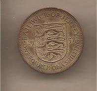 Jersey - Moneta Circolata Da 1/4 Di Scellino - 1957 - Jersey