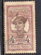 Martinique : 63 OBL - Usados
