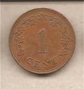 Malta - Moneta Circolata Da 1 Centesimo - 1977 - Malta