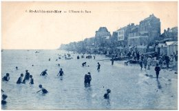 14 SAINT-AUBIN-sur-MER - L'heure Du Bain - Saint Aubin