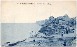 14 SAINT-AUBIN-sur-MER - Vue Générale De La Plage - Saint Aubin
